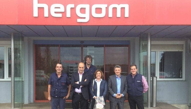 Hergom cantabria hydraulic actuators for Repuestos cocinas hergom